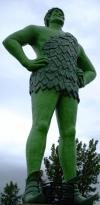 Could eating sweetcorn be key to the green giant's appearance (---No)